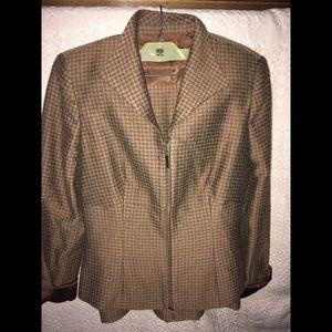 Jackets & Blazers - Adrienne Vittadini Skirt Suit - Size 4